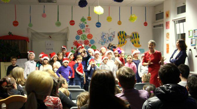 Weihnachtsfest in der Schule